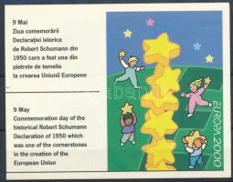 Europa CEPT bélyegfüzet, Europa CEPT stamp-booklet