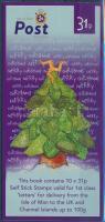 2000 Europa CEPT; Karácsony öntapadós bélyegfüzet Mi 1332