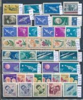 Bulgária 168 db bélyeg, közte teljes sorok + 4 db blokk, 5 db A4-es berakólapon (Mi EUR ~360,-)