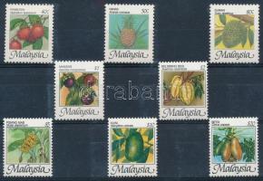 1986 Gyümölcs sor Mi 330-337