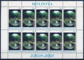 2001 Europa CEPT: Éltető víz kisív Mi 388