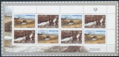 Europa CEPT: Invigorating water stamp-booklet, Europa CEPT: Éltető víz bélyegfüzet