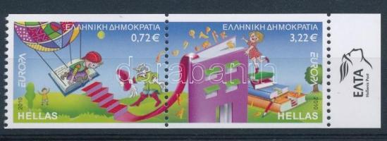 Europa CEPT: Children's books margin pair, Europa CEPT: Gyermek könyv ívszéli pár