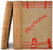 Arnold Zweig: Grisa őrmester I-II. Frontregények. Fordította: Róna Imre. Budapest, é.n., Pantheon-kiadás, 294+390 p. Kiadói egészvászon kötés.