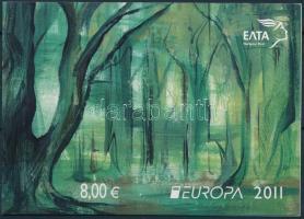 Europa CEPT: Forest stamp-booklet, Europa CEPT: Erdő bélyegfüzet