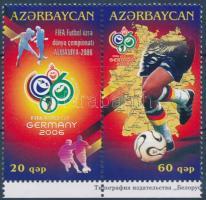2006 Labdarúgó VB. ívszéli pár Mi 640-641 A