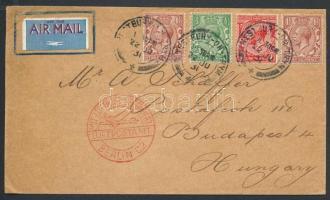 1931 Légi levél Budapestre / Airmail cover to Hungary