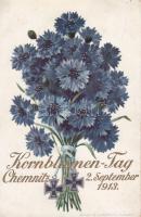 Chemnitz, Kornblumen-Tag,1913 sept. 2., advertisement