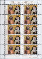 2015 Néri Szent Fülöp és Avilai Szent Teréz kisív Mi 1852