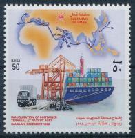 Kikötő, hajó Raysut, Salalah Harbor, boat Raysut, Salalah