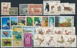 Animals ~1922-1973 31 stamps, Állat motívum ~1922-1973 31 klf bélyeg, közte sorok