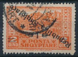 1925 Forgalmi érték fordított felülnyomással Mi 118