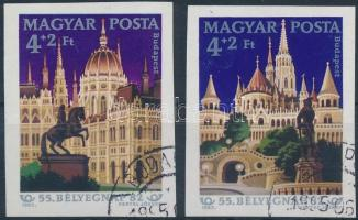 1982 Bélyegnap (55.) vágott sor (3.000)
