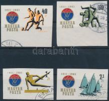 1961 Vasas Sportklub (I.) vágott sor (5.000)