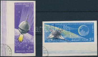 1966 Luna 9. vágott ívszéli sor