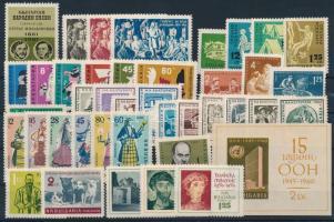 1961 40 klf bélyeg + 1 blokk