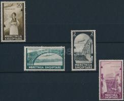Airmail set 4 values, Repülő posta sor 4 értéke