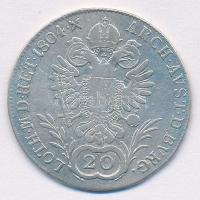 Ausztria 1804A 20kr Ag II. Ferenc (6,46g) T:2-,3 Austria 1804A 20 Kreuzer Ag Franz II (6,46g) C:VF,F Krause KM#2139