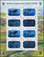 2000 WWF Lovak hologramos kisív Mi 3126-3129