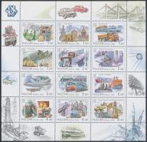 2000 Oroszország a 20. században (IV.) Műszaki eredmények kisív Mi 863-874