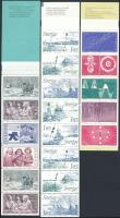 5 stamp-booklets, 5 db klf bélyegfüzet