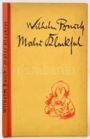 Wilhelm Busch: Maler Klecksel. Rudolfstadt, é.n. [1960], Griefenverlag, 69 p. Német nyelven. Kiadói félvászon kötés. Számos humoros szövegközti illusztrációval, karikatúrával. / Linen-binding, in german language.