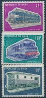 1973 Rudolf Diesel: Mozdony 3 érték Mi 396-398
