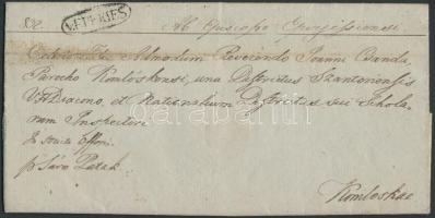 1846 Ex offo v.EPERIES - Komlóska