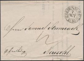 1840 Portós levél OEDENBURG - Neusohl