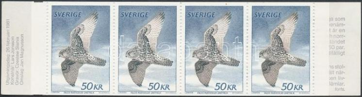 1981 Sólyom bélyegfüzet Mi 1140 I