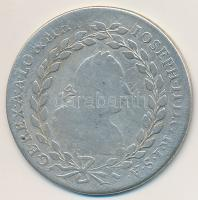 Ausztria 1776F/VC-S 20kr Ag II. József (6,35g) T:2-,3 Austria 1776F/VC-S 20 Kreuzer Ag Joseph II (6,35g) C:VF,F Krause KM#2067.1