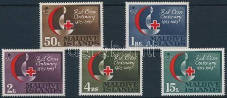 1963 Vöröskereszt sor Mi 124-128