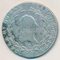 Ausztria 1803C 20kr Ag II. Ferenc (6,47g) T:2- patina Austria 1803C 20 Kreuzer Ag Franz II (6,47g) C:VF patina Krause KM#2139