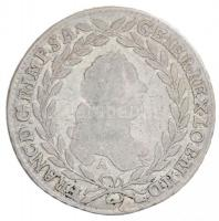 Ausztria (1766.) 1765A/G-R 20kr Ag I. Ferenc posztomusz kiadás (6,36g) T:2,2- Austria (1766.) 1765A/G-R 20 Kreuzer Ag Franz I posthomous issue (6,36g) C:XF,VF Krause KM#2029