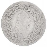 Ausztria 1763W-I 20kr Ag I. Ferenc (6,36g) T:2,2- Austria 1763W-I 20 Kreuzer Ag Franz I (6,63g) C:XF,VF Krause KM#2028
