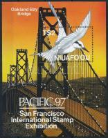 Nemzetközi bélyegkiállítás, PACIFIC '97 blokk International Stamp Exhibition '97 PACIFIC block