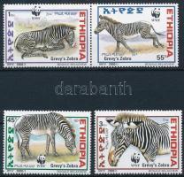 WWF Zebras set WWF zebrák sor