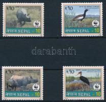 2000 WWF Ritka állatok sor Mi 718-721