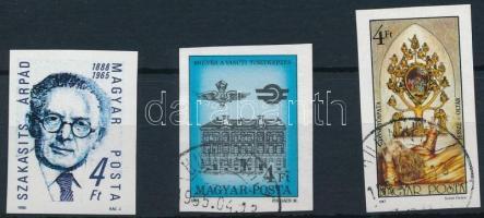 1987-1988 3 klf vágott bélyeg (5.500)