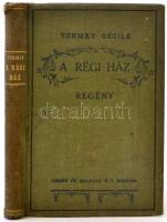 Tormay Cécile: A régi ház. Budapest, 1923, Singer és Wolfner, 192 p. 10. kiadás. Batthyány Gyula gróf rajzaival. Kiadói egészvászon kötés. A gerince kopott. Ezt leszámítva jó állapotban.