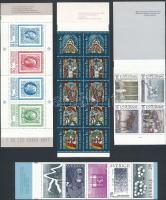 1982-1983 4 stamp-booklets, 1982-1983 4 db klf bélyegfüzet