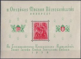 1938 ORBÉK blokk (gumierek) (7.000)