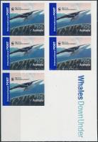 WWF Whale stamp-booklet, WWF: Bálna bélyegfüzet
