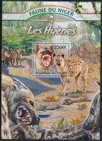 2013 Állatok: hiéna blokk Mi 164