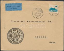 1935 Légi levél Szegedre