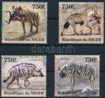 2013 Állatok: hiéna sor Mi 2109-2112