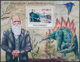 2009 Charles Darwin blokk Mi 284