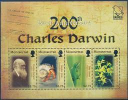 2009 Charles Darwin kisív Mi 1471-1474