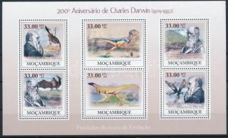 2009 Charles Darwin kisív Mi 3434-3439