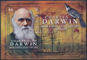 2009 Charles Darwin blokk Mi 278